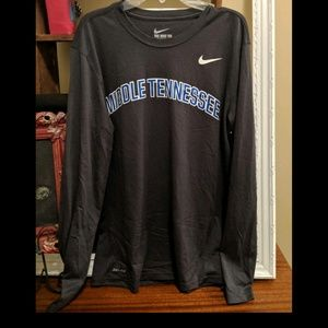 Middle Tennessee State University tee (MTSU)